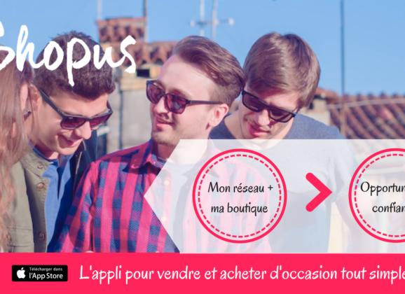Shopus, l'application collaborative qui vide le placard des millennials